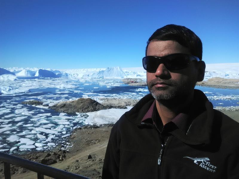 VU3LBP Bharati Station Antarctica Larsemann Hills