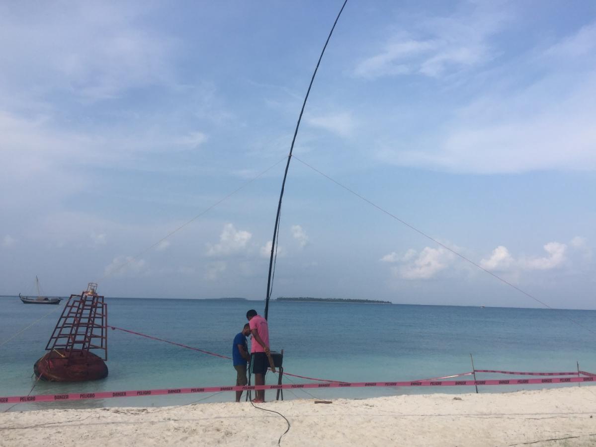VU7KP Bangaram Island Antenna