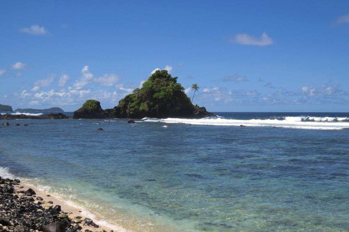 W1VX/KH8 KH8C Остров Тутуила, Американское Самоа. Туристические достопримечательности.