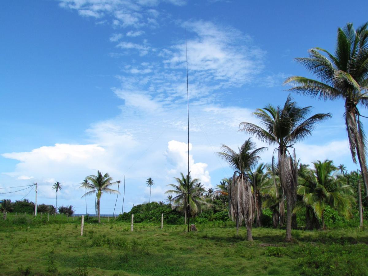 5K0K San Andres Island DX Pedition Antennas Image 2