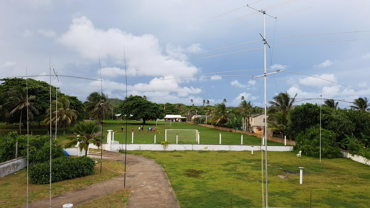 5K0K San Andres Island DX Pedition Antennas Image 3