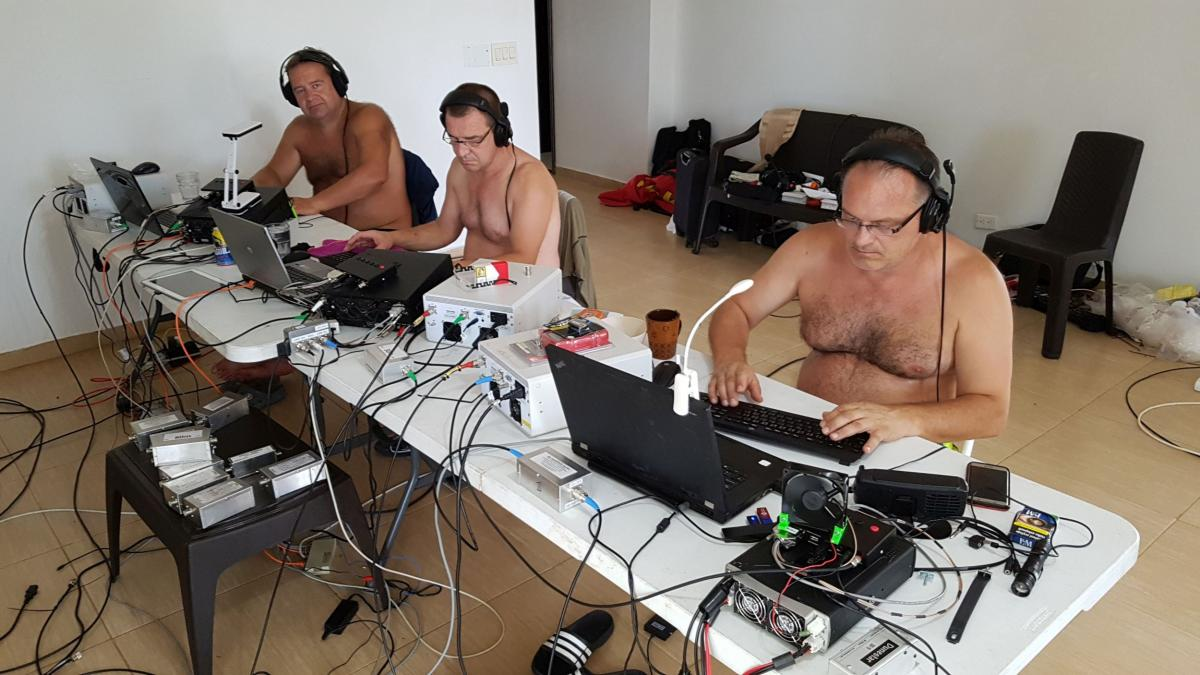5K0K San Andres Island DX Pedition CW Camp