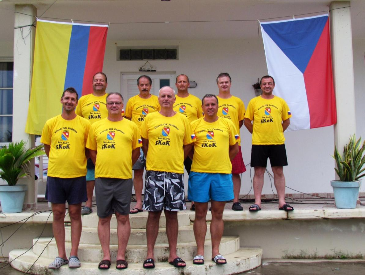 5K0K San Andres Island DX Pedition Team