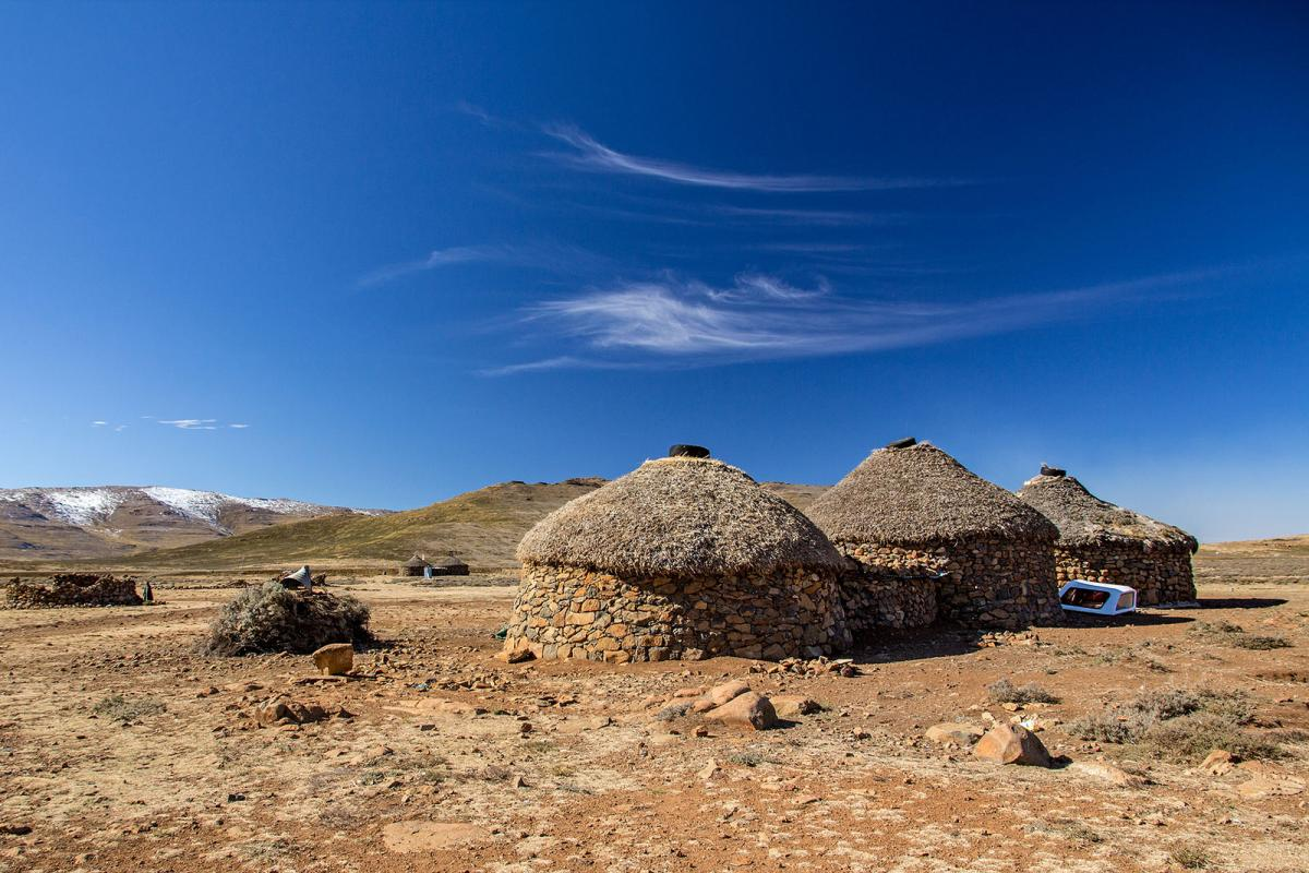 7P8LB Lesotho Tourist attractions spot