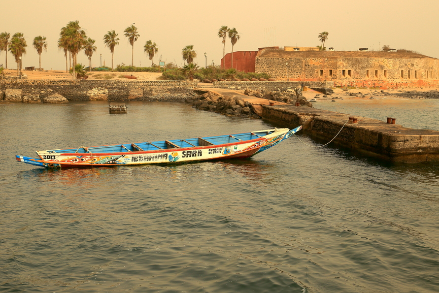 Goree Island 6V1A Tourist attractions