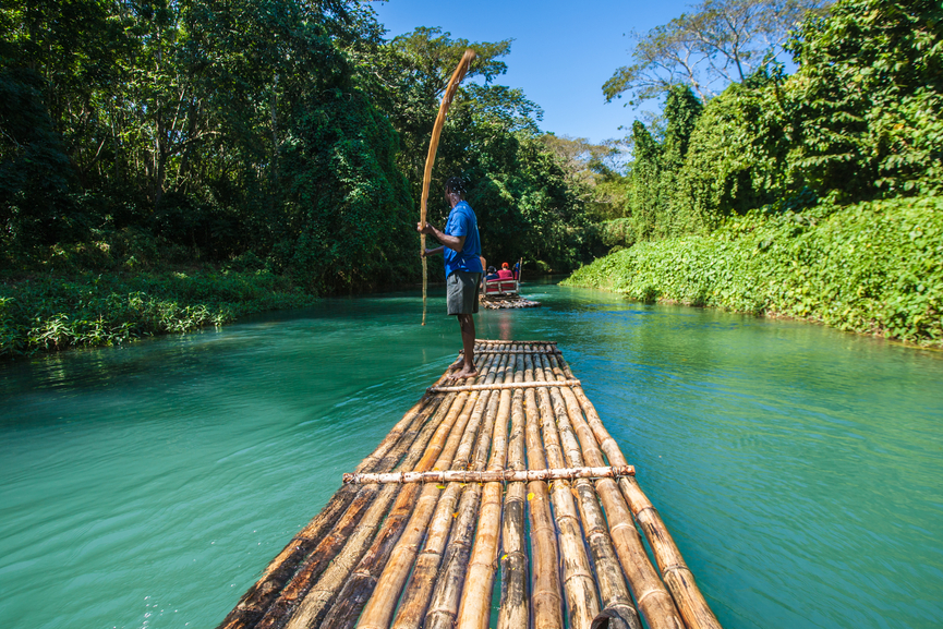 Jamaica 6Y6N DX News Bamboo River Tourism in Jamaica