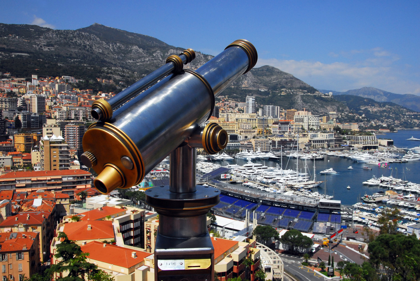 Monaco 3A/EA5IDQ Tourist attractions
