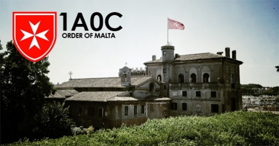 Sovereign Military Order of Malta 1A0C QSL