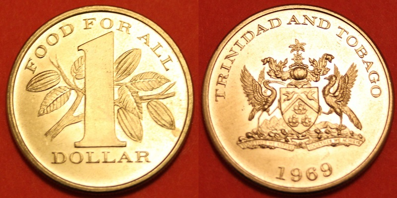 Trinidad and Tobago Islands 9Y4/AI5P Dollar