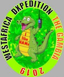 C5DL Gambia DX Pedition Logo