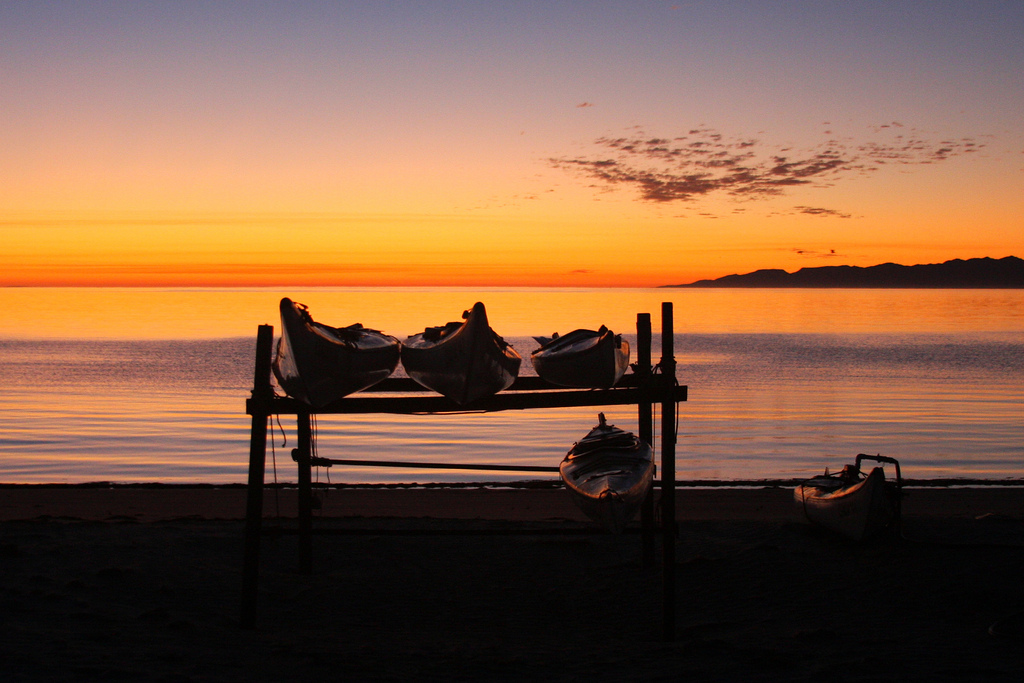 XF1IM Sunrise, Magdalena Island, Baja Mexico, Mexico