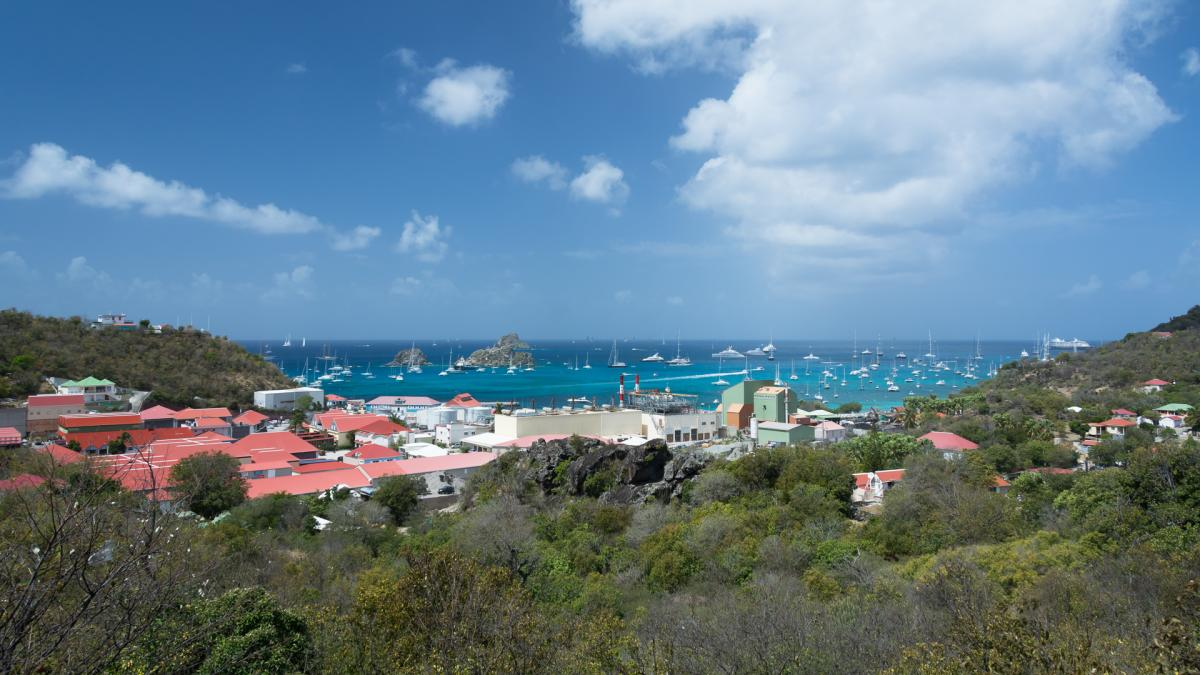 FJ/F6CUK FJ/F6EHJ Saint Barthelemy Island Tourist attractions spot