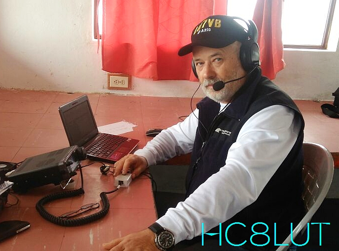 HC8LUT Galapagos Islands DX Pedition LU7VB