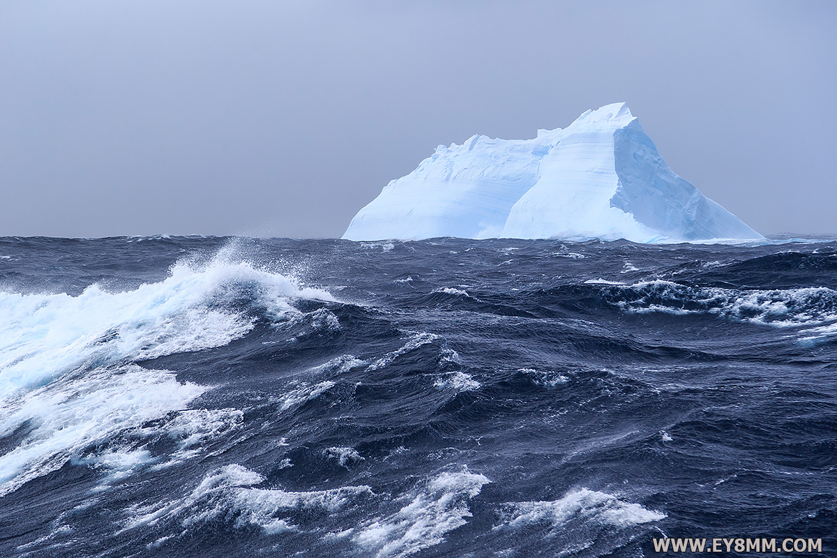 Iceberg on the way to South Africa