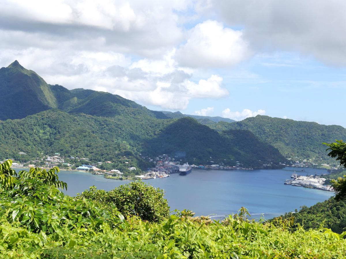 KH8/K1TF Pago Pago Harbour, American Samoa
