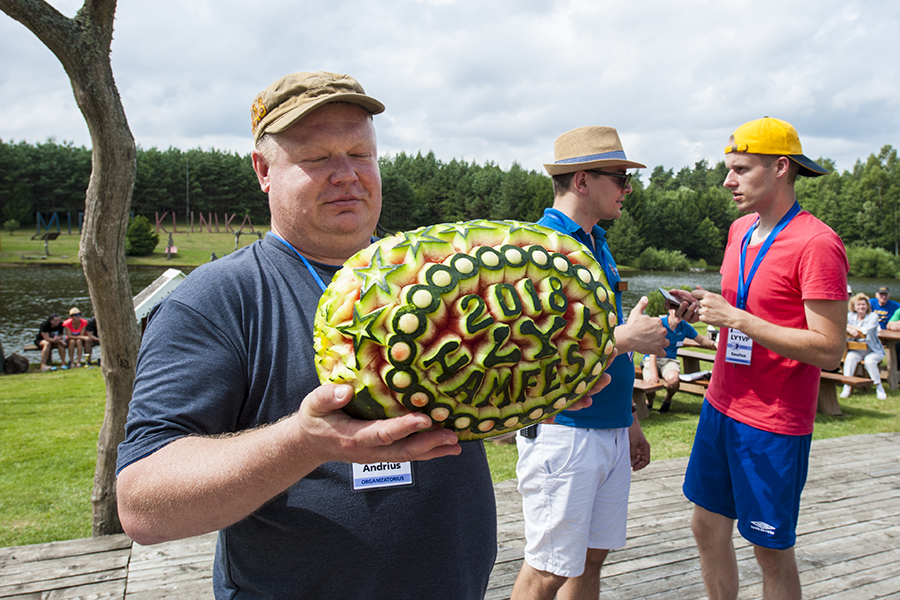 Lithuanian Hamfest 2018 Andrius LY3AB