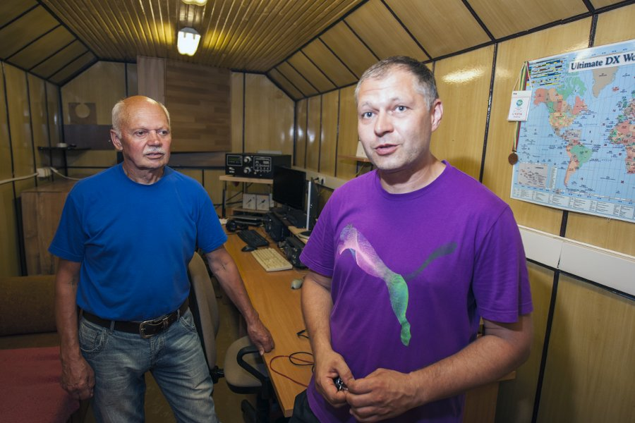Lithuania LY7Z LY9Z Radio Room Shack