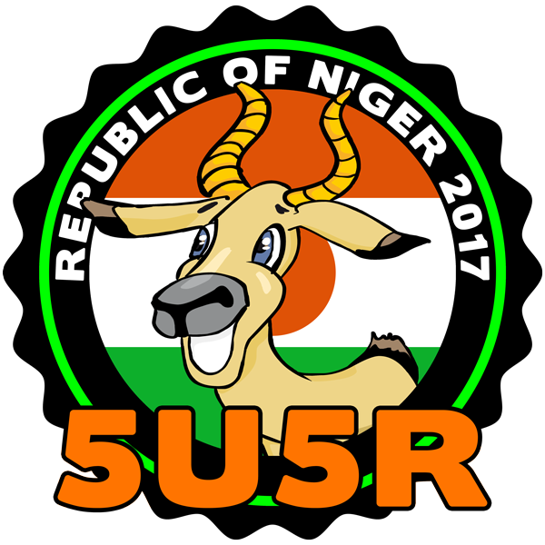 Niger 5U5R DX Pedition Logo