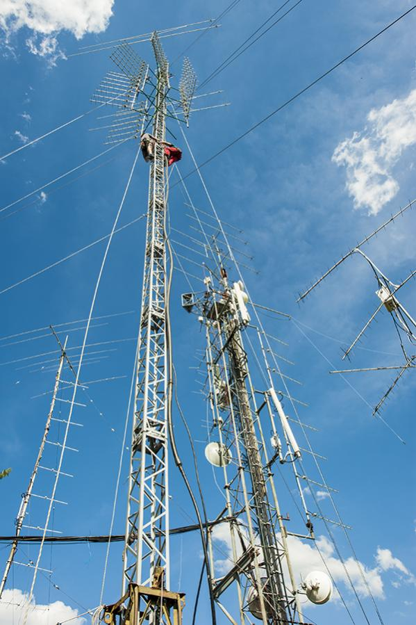 OL3Z Contest Station Main Tower