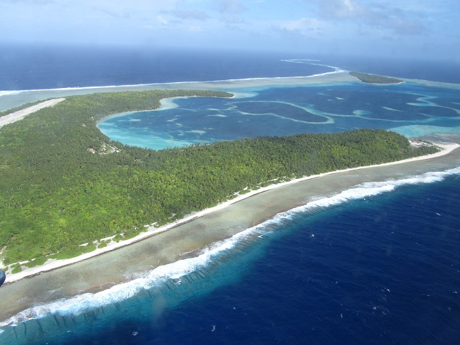 The airstrip on the Pukapuka Atoll is on Motu Ko.