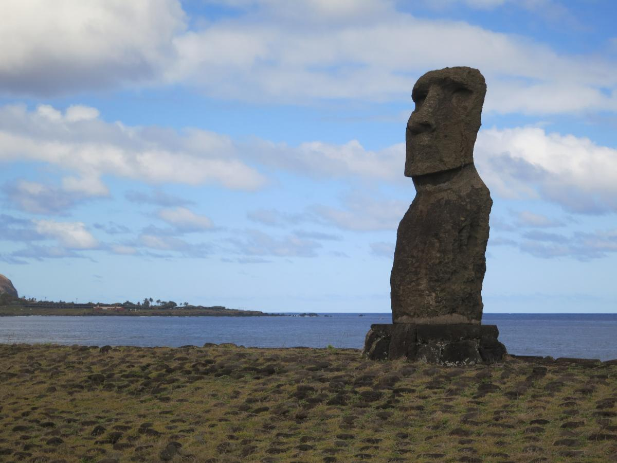 XR0YD Easter Island Tourist attractions spot