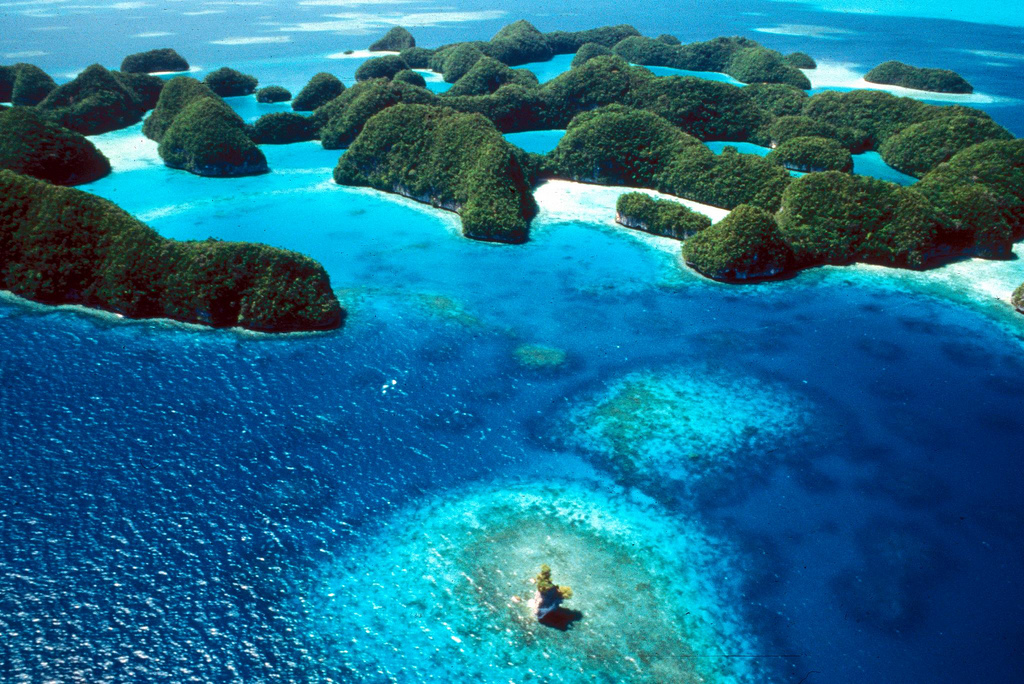 T8CW Koror Island Palau Tourist attractions spot