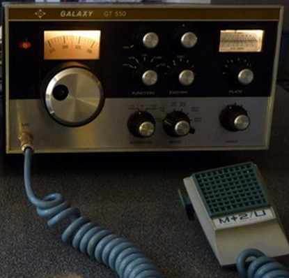 Galaxy transceiver Ham Radio
