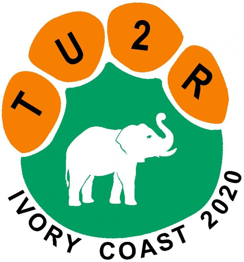 TU2R Cote dIvoire Ivory Coast DX Pedition Logo