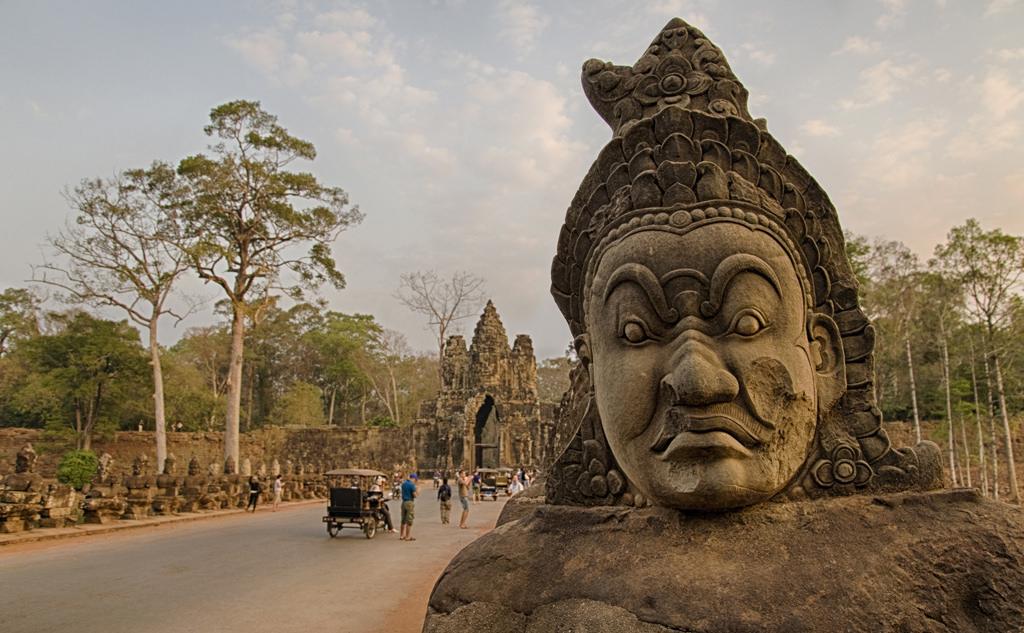 XU7AEY Angkor Thom, Angkor Wat, Siem Reap, Cambodia.