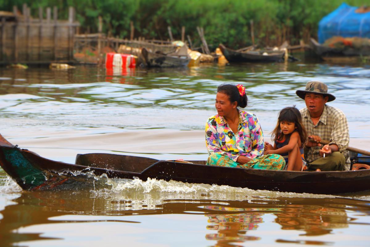 XU7YTT Тонле Сап, Камбоджа. DX Новости.