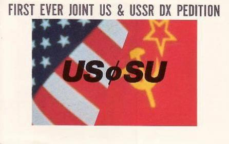 US0SU USA USSR DX Pedition