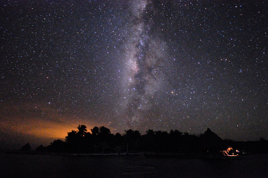 V31MK Milky Way, Belize.