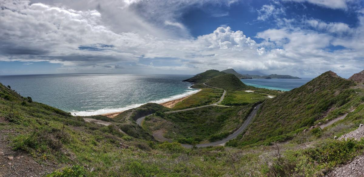V4/WX4G Saint Kitts Island, Saint Kitts and Nevis. Tourist attractions spot