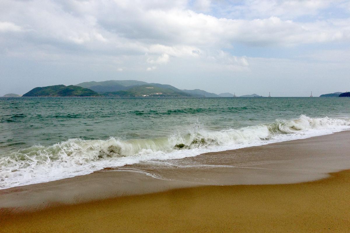 XV9DF Остров Хон Че, Бамбуковый остров, Вьетнам