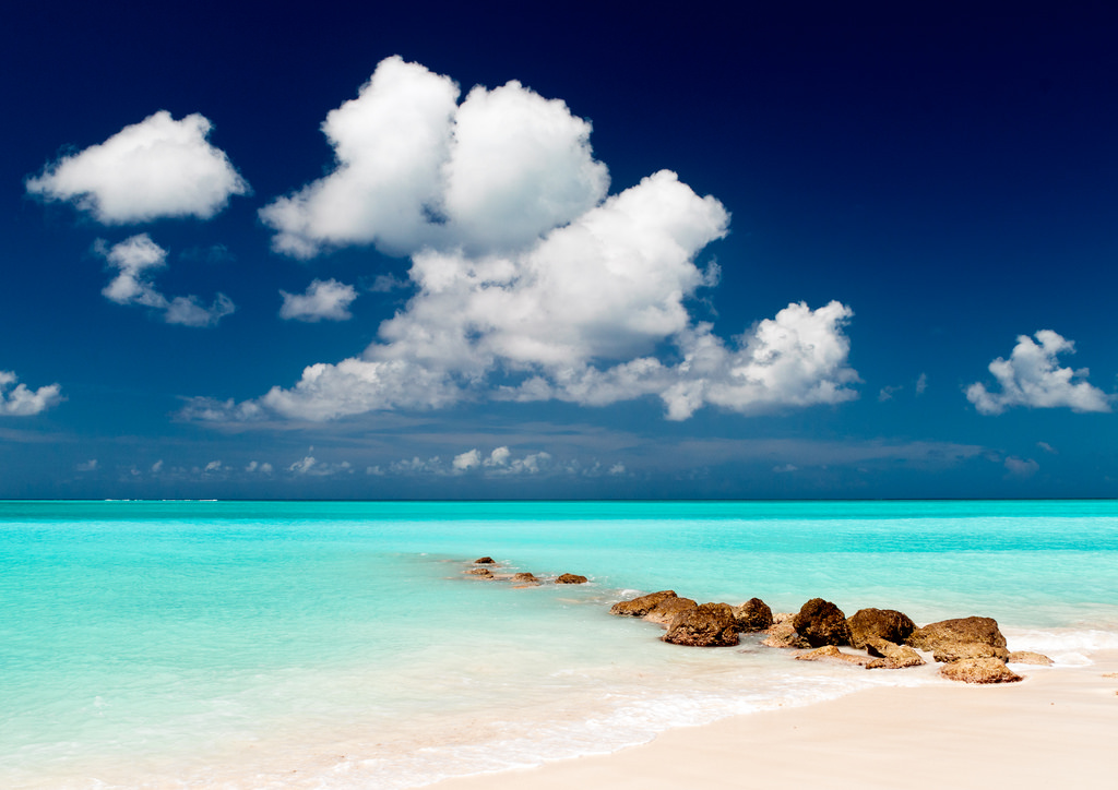 VP5/AK5Q Pelican Beach, Providenciales Island, Turks and Caicos Islands.