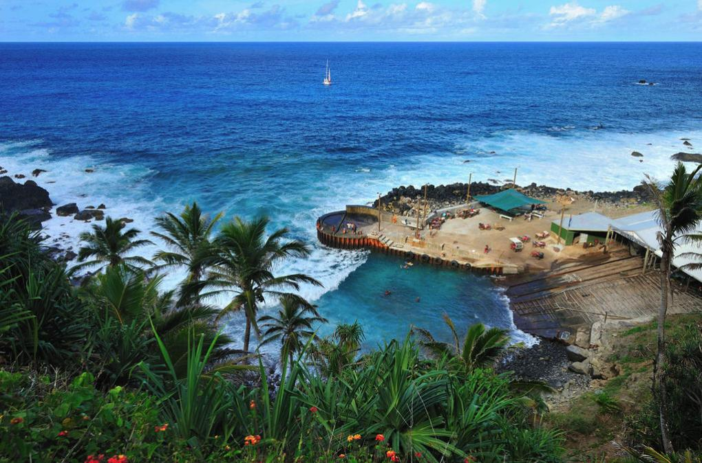VP6R Pitcairn Island Tourist attractions spot
