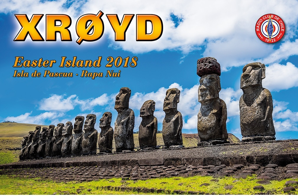 XR0YD Easter Island DX Pedition QSL