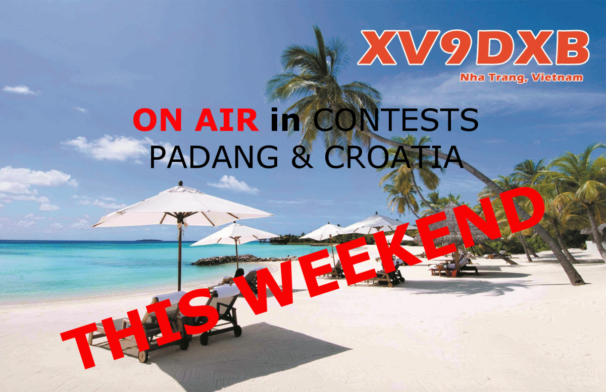 XV9DXB Vietnam QRV in Contests December 2019