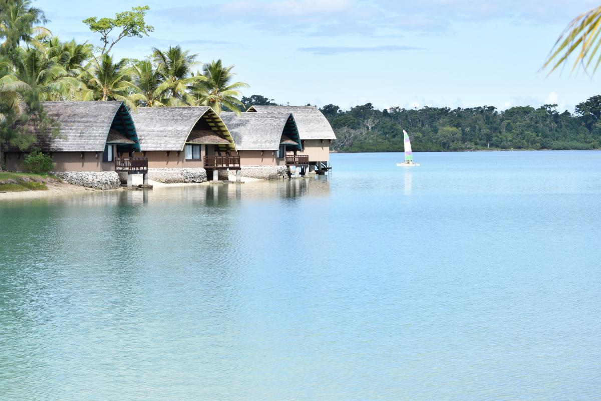 YJ0CA Holiday Inn Resort, Erakor Lagoon, Vanuatu.