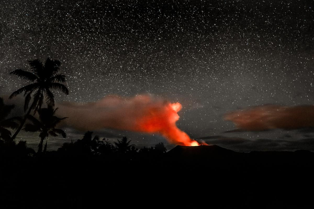 Vanuatu YJ0GB Mt Yasur, on Tanna Island Vanuatu. One of the worlds most accessible live volcanoes.