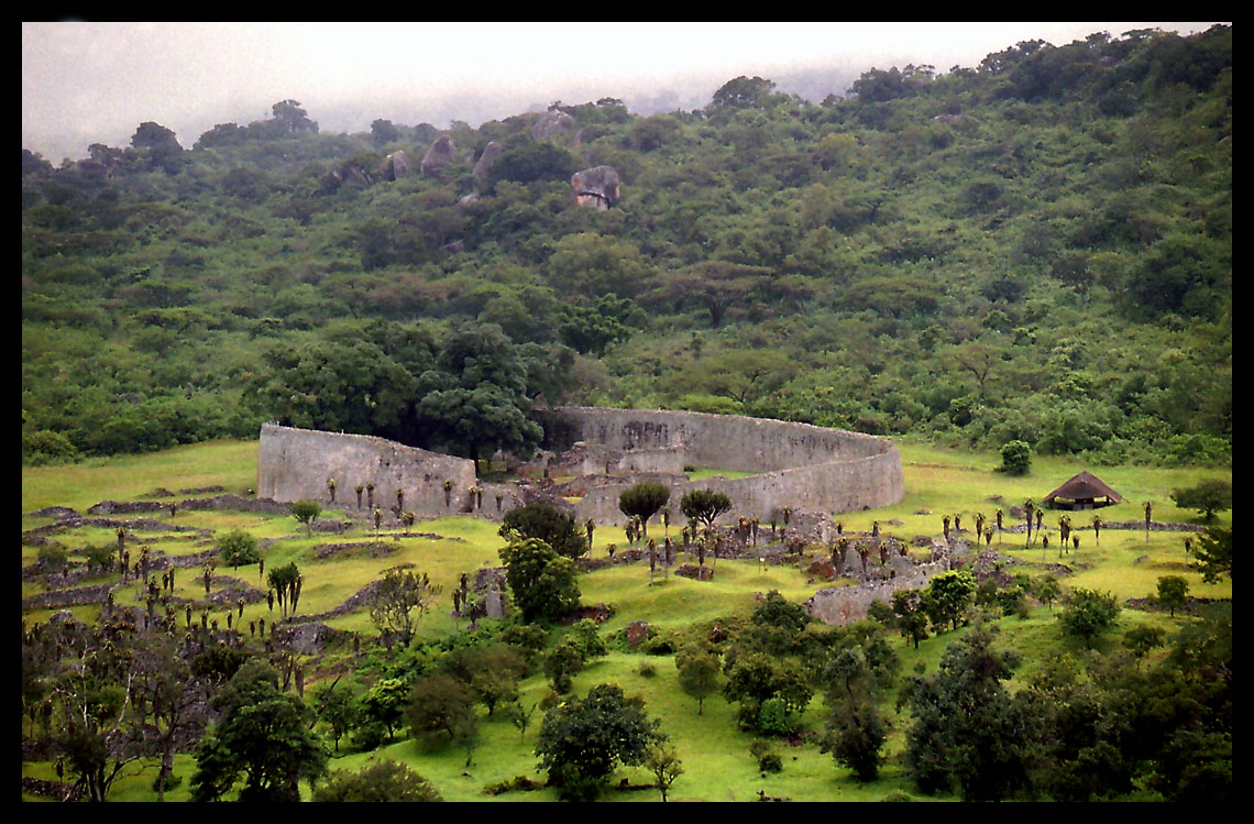 Z21NRT Zimbabwe Tourist attractions spot Great Zimbabwe ruins
