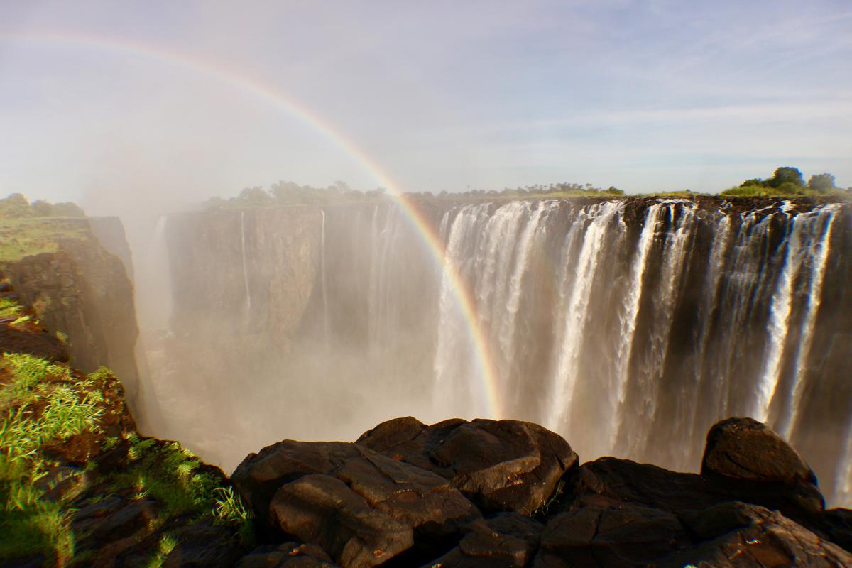Z22VC Водопад Виктория, Зимбабве