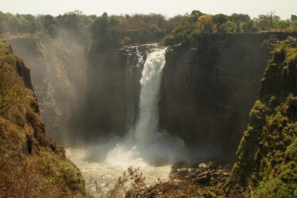Z23MD Зимбабве Туристические достопримечательности.