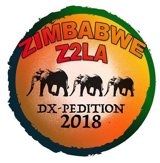 Z2LA DX экспедиция Логотип